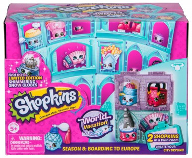 Shopkins, pachet 2 figurine, colect