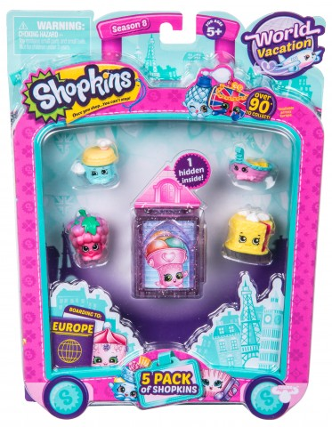 Shopkins, pachet 5 figurine, colect