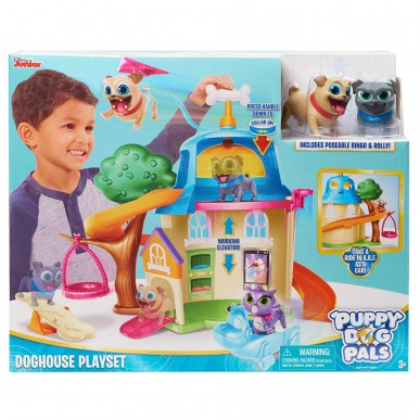 PUPPY DOG PALS SET DE JOAC? CASA C?